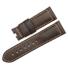 24mm Vintage Echtes Leder Uhrenarmband/Armband Asso Watch Band  für Panerai