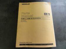 Caterpillar CAT 318B L  318B LN Excavators Parts Manual   3LR 7KZ
