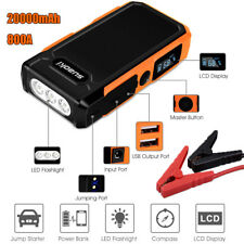 Suaoki 20000mAh 800A Car Vehicle Jump Starter Booster Emergency Battery Charger
