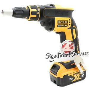 DeWALT DCF620 20V XR Li-Ion 5.0 Ah Brushless Drywall Screwgun Screwdriver Drill
