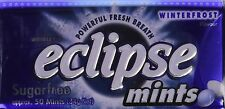 NEW Eclipse Sugarfree Mints Winterfrost, 1.2 Ounce Tins (Pack of 8)