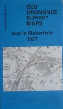 Old Ordnance Survey Map Ince in Makerfield near Wigan Lancs 1927 Sheet 93.12 Map