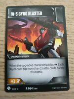 Transformers TCG - Wave 3 - W-5 Gyro Blaster - R 064/064