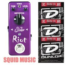 Suhr Riot Mini Distortion Guitar Pedal True Bypass Voice Switch ( 3 STRING SETS)