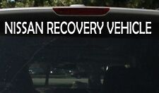 NISSAN RECOVERY VEHICLE 600mm 4x4 DECAL