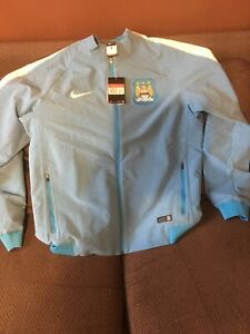 Manchester City Nike Tracksuit Top Jacket Large