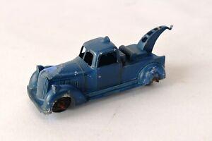 "Vintage Toby Toy Breakdown Truck Metal Masters Diecast truck England Blue Old""F6"