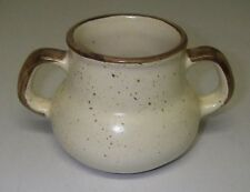 "Canadian ART POTTERY Laurentian  # 587 Open Sugar Tan Cream 3"" high"