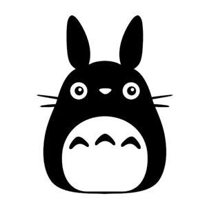Cute Dust Bunny Vinyl Decals My Neighbor Totoro Figure Studio Ghibli Stickers