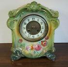 Antique ROYAL BONN Ansonia La Sedan Made In Paris Dial 8 Day Chime 1880 s Clock