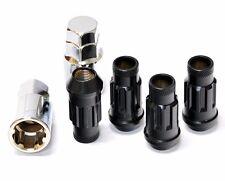 Muteki SR48 Open End Locking Lug Nuts in Black 12x1.50 | 32902B