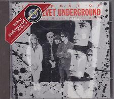 THE VELVET UNDERGROUND - the best of CD