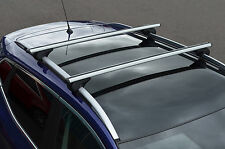 TO FIT SKODA ROOMSTER : PREMIUM ALUMINIUM ROOF CROSS BARS TO FIT SIDE ROOF RAILS