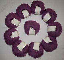 10X50g Rowan Felted Tweed DK 183 Peony 50% Merino Wool 25% Alpaca 25% Viscose