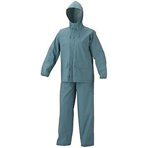 Coleman Rain Defense PVC Rain Suit GRAY Size Large 2 piece Pants & Jacket Coat