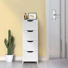 Chest Storage 4 Drawers Dresser Bedroom Cabinet Furniture Organizer Bathroom