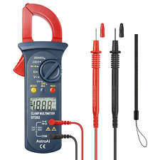 Astroai Digital Clamp Meter Multimeter Volt Meter With Auto Ranging Measures