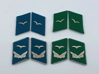 Vintage East German RARE Border - Air Force Collar Tabs Pairs UNISSUED
