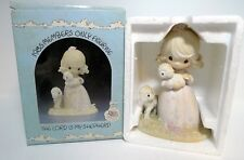 Precious Moments Enesco Figurine Pm-851 1984 The Lord Is My Shepherd Special Ed