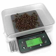 Coffee Gator Digital Scale with Timer - For Brewing, Food and Kitchen Use