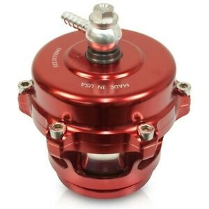 BD Diesel Turboguard Blow-Off Valve Red Valve/Alum Adapter For Ford/Dodge/GM