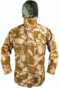 New British Army Issue Desert DPM MVP Foul Weather Jacket 180/96 Medium M