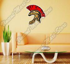 "Spartan Army Soldier Ancient Helmet Roman Wall Sticker Room Interior Decor 22"""