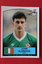 Panini EURO 88 N. 204 EIRE ALDRIGE WITH BACK VERY GOOD / MINT CONDITION!!!