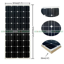 100W PV Mono Solar Panel for Power Charge off / on Gird for 12V Application