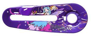 """SHIMMER FAIRY KIDS Bike Bicycle CHAIN GUARD for 12"""" WHEELS in Purple"""