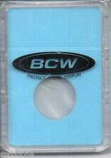 (5) BCW COIN DISPLAY SLAB AND NICKEL COIN FOAM INSERTS - LIGHT BLUE