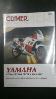 New Clymer Yamaha Service Manual FZ700, FZ750 & Fazer 1985-1987 M392