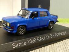 1/43 Norev Simca 1000 Rallye 3 Prototype 1978 blau 571021