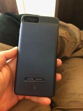 iPhone 7 Plus 8 Plus 3700 mah Battery case Navy