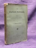 Poeschel Eine Erzgebirgische Gelehrtenfamilie 1883 Sachsen Saxonica js