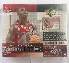 2003-04 Upper Deck Finite Basketball Factory Sealed Hobby Box