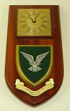 SELOUS SCOUTS RHODESIAN SF CLASSIC HAND MADE TO ORDER REGIMENTAL  WALL CLOCK