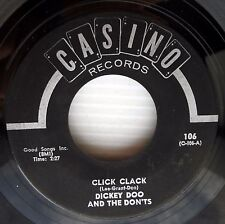 DICKEY DOO +the DON'TS click clack nee nee na na na nu nu 1960 Pop Rock 45 w5255