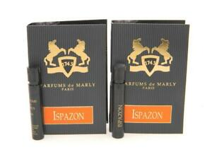 Parfums de Marly Ispazon Original Vial Sample 1,2ml 0.04 fl.oz. (Lot of 2)