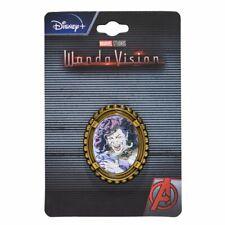 More details for marvel comics wandavision agatha harkness lenticular lapel pin badge