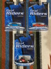 Lot Of 3 Hot Wheels Real Riders Limited Edition Die-Cast Cars