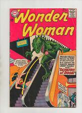 Wonder Woman #148 - Dinosaur Cover! - (Grade 5.5) 1964
