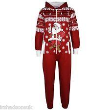 Kids Girls Boys Christmas A2Z Onesie One Piece Santa Penguin Snowman Jumpsuit