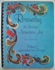 Rosemaling the Beautiful Norwegian Art- Vol 1 Helen Blanck patterns instruction