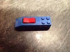 Lego 12 V Eisenbahn 1schalter Für Elektr. Weiche Blau