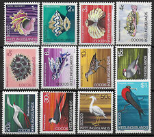 1969 Cocos Islands 12v. MNH SG no 8/19 £ 6,00