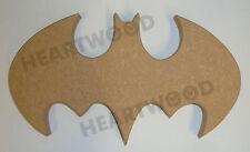Batman logo/Bat in MDF 125mm x 220mm x 18mm/Superhero