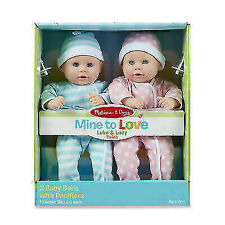 sMELISSA AND DOUG JENNA BABY DOLL XMAS GIFT GIRLS CUTE PRETEND HOT BEST USA SELL