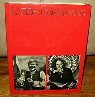 SIGNED Yousuf Karsh Canadians Portraits 79 Photographs Photographer HC DJ 1st ED