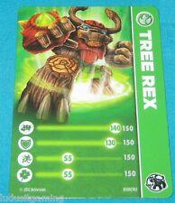 TREE REX Stat Card Skylanders Giants TREEREX  Sky Landers Giants All Systems